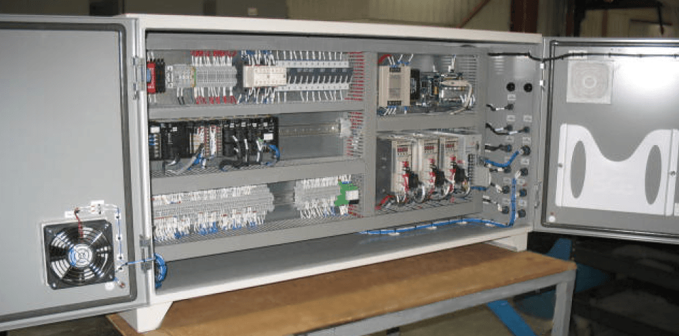 Small Panel With Doors on Electrical Engineering Schematics